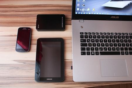 Stay Connected Via Telephone Tablets Computers and Smartphones